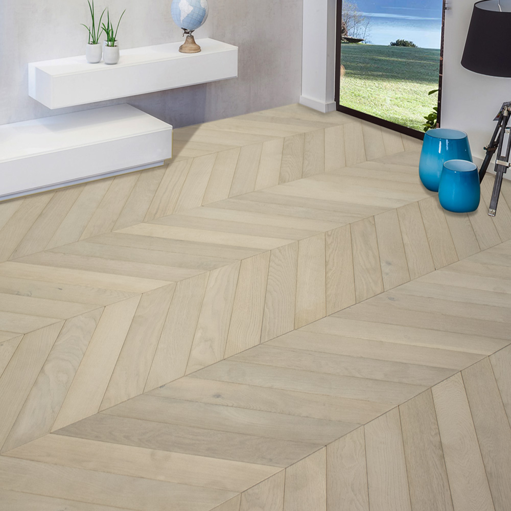 Chev – PCA White – Oyster