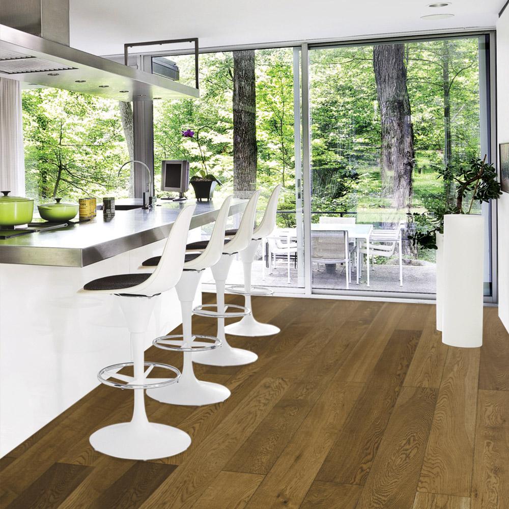 Brown Swiss Hardwoods Parquet Flooring