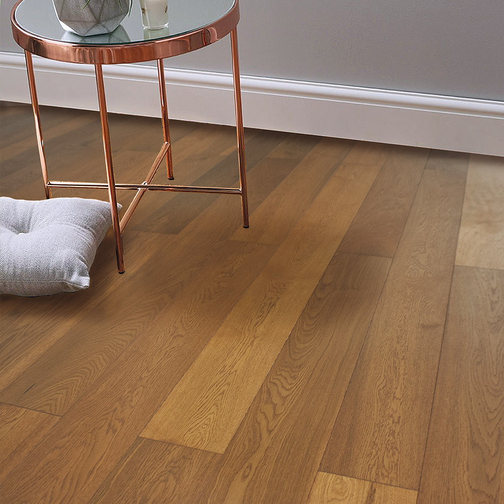Ice Brown-(European Oak – Single Strip)