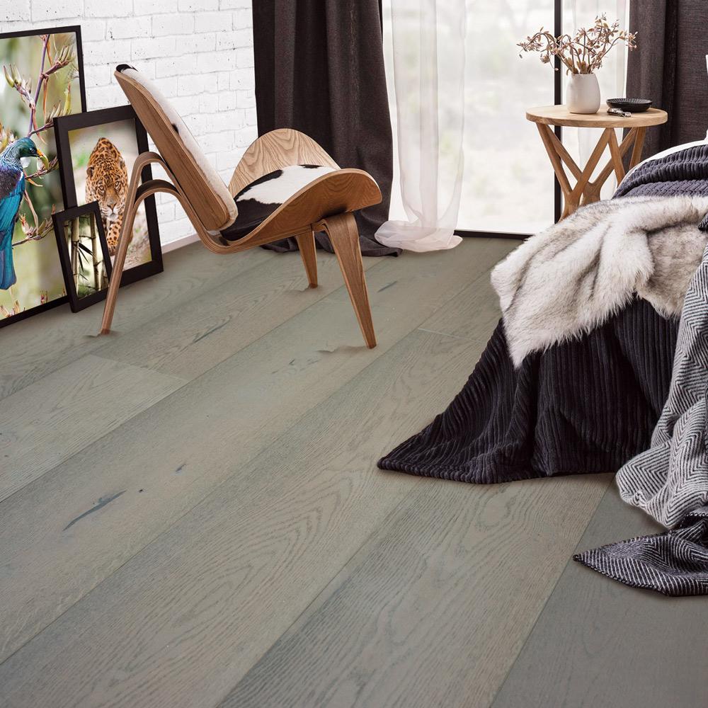 Antique Beige Walnut Parquet Flooring