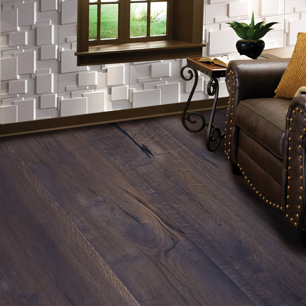 Chocolate Parquet Flooring