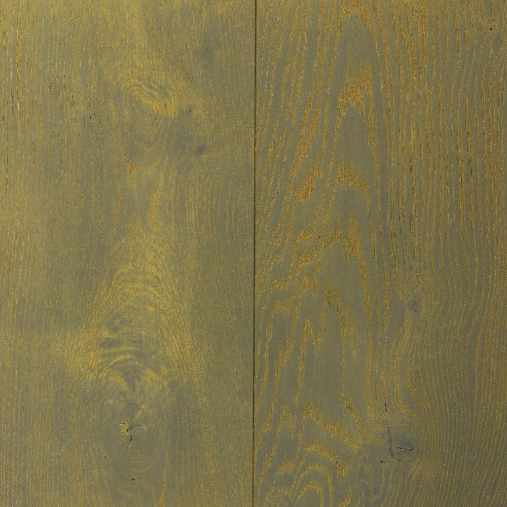 Dark Grey – Gold (European Oak – Single Strip)