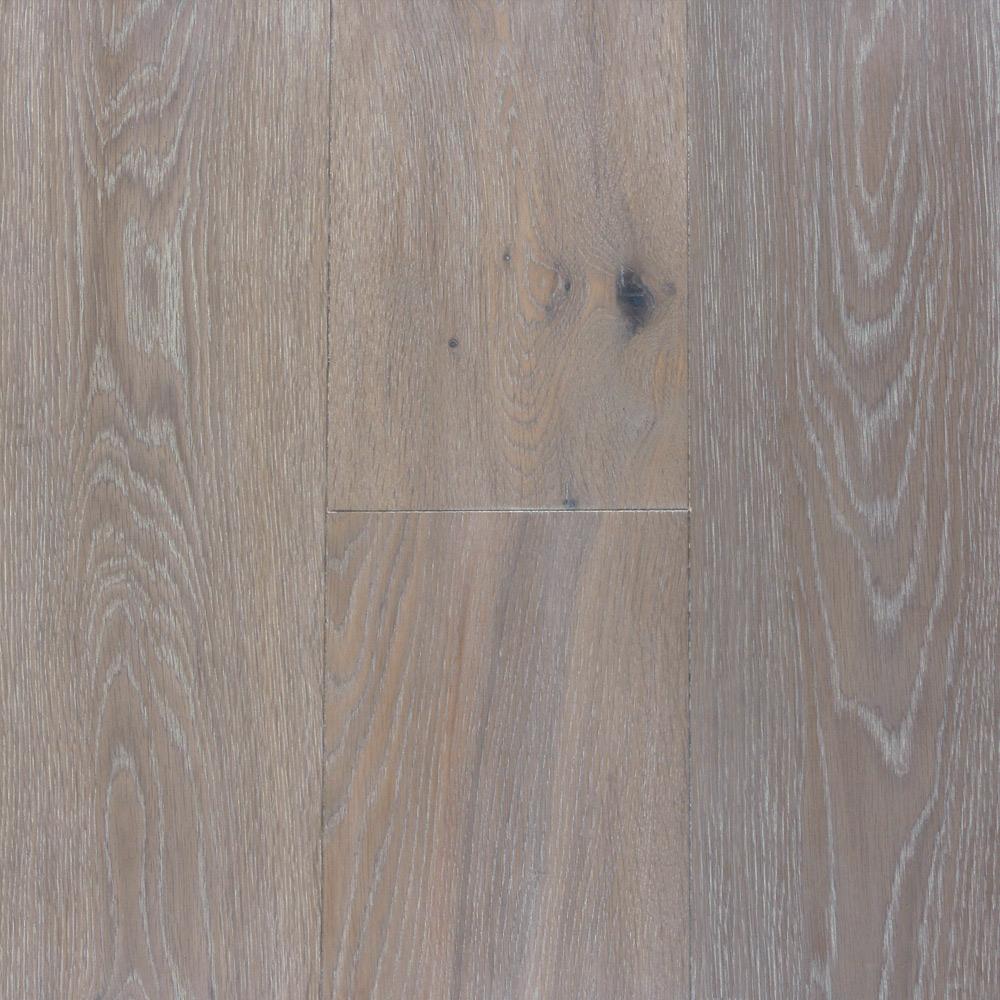 PC Brown – White Washed (European Oak – Single Strip)