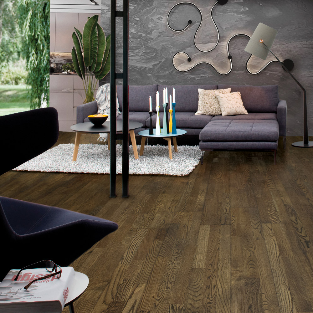 Oak 3 strip parquet Flooring