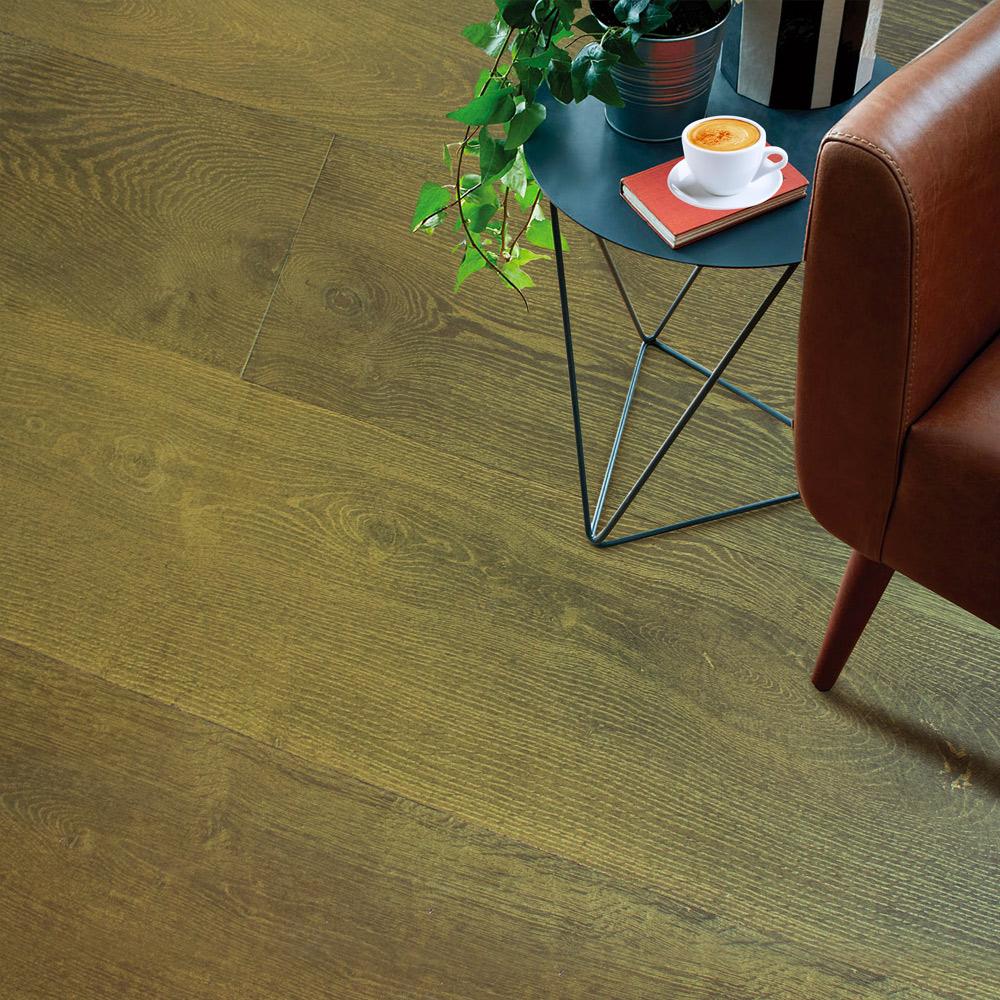 Mystic Brown Gold Parquet Flooring
